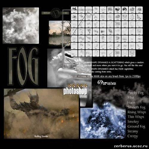 Кисти Туман