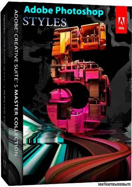 500 стилей Adobe Photoshop CS