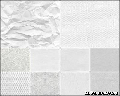 10 бумажных текстур