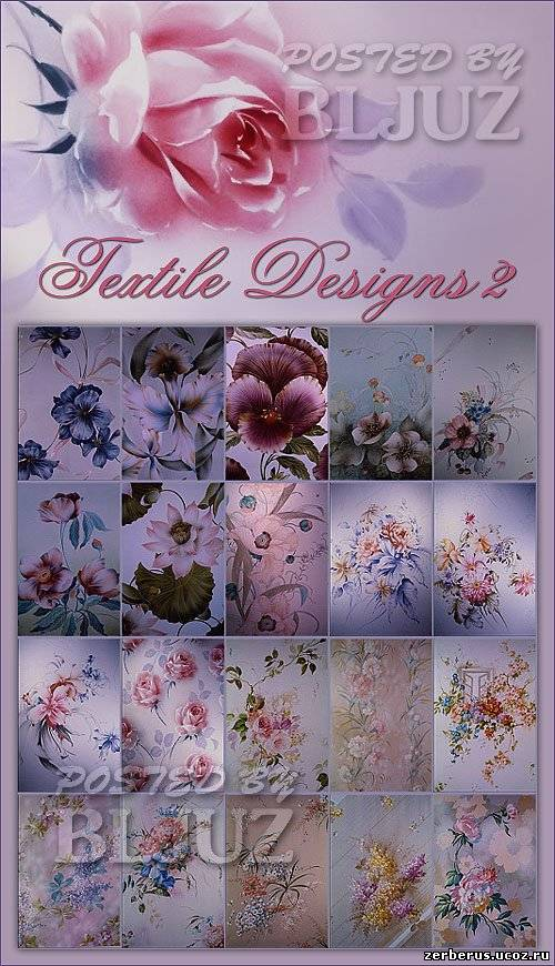 Фоны для дизайна тканей (JPEG)