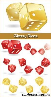 Глянцевые игральные кости / Glossy Dices