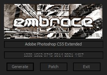 Скачать Adobe Photoshop CS5 Extended Final v12.0 после установки кряк