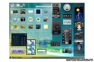 Коллекция гаджетов для Windows 7