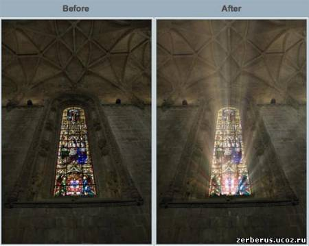 Плагин для фотошоп - Digital Film Tools Rays v1.0.1