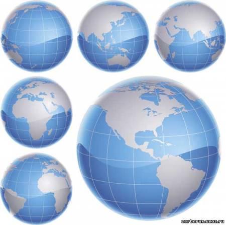 3D глобусы