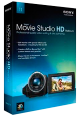 Sony Vegas Movie Studio HD Platinum 11.0.231